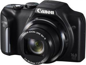 Canon, Fotoaparát Fotoaparát Canon PowerShot SX170 IS Black