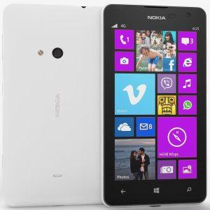 Nokia,  Nokia Lumia 625, bílá