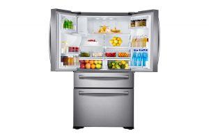 Samsung, Americká lednička Americká lednička Samsung RF24FSEDBSR/EO + 10 let záruka na kompresor