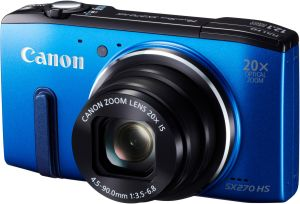 Canon, Fotoaparát Fotoaparát Canon PowerShot SX270 HS Blue