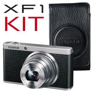 FujiFilm, Fotoaparát Fotoaparát FujiFilm FinePix X-F1 Black + luxusní kožené pouzdro ZDARMA!