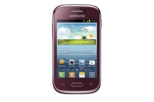 Samsung,  Samsung Galaxy Young, S6310, NFC, červená