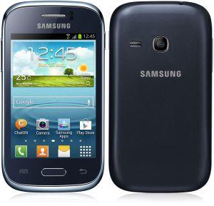 Samsung,  Samsung Galaxy Young, S6310, NFC, modrý