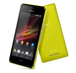 Sony,  Sony Xperia M, C1905, žlutá
