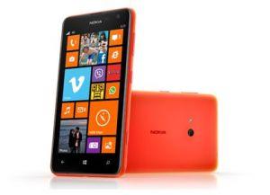 Nokia,  Nokia Lumia 625, oranžová