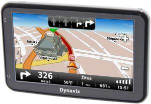 Dynavix, GPS navigace GPS navigace Dynavix Lyra Evropa Lifetime + asistenční karta pro Evropu