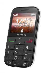 ALCATEL ONETOUCH, Mobil pro seniory Mobil pro seniory ALCATEL ONETOUCH 2000, bílý