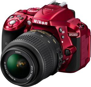 Nikon, Fotoaparát Fotoaparát Nikon D5300 + 18-55 AF-S DX VR Red
