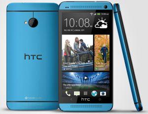 HTC,  HTC One (M7) 32 GB, modrý
