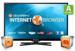 Gogen, LED televize LED televize Gogen TVL 39257S WEB