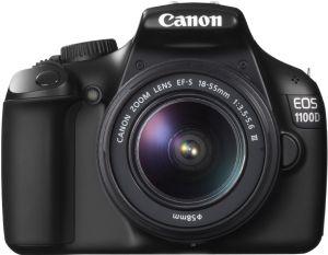 Canon, Fotoaparát Fotoaparát Canon EOS 100D + 18-55 mm DC III + 1300 Kč zpět od Canonu!