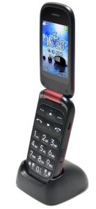 Aligator, Mobil pro seniory Mobil pro seniory Aligator V550 Senior, stolní nabíječka, červený