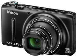 Nikon, Fotoaparát Fotoaparát Nikon Coolpix S9400 Black + 8GB karta + pouzdro ZDARMA!