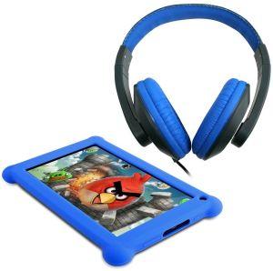 Point of View, Tablet Tablet Point of View Mobii 703, modrá + sluchátka