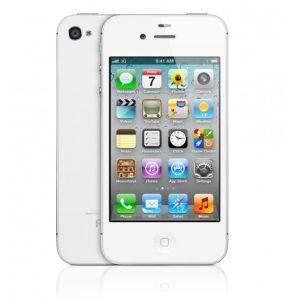 Apple,  Apple iPhone 4S, 16GB bílý - UK nabíječka