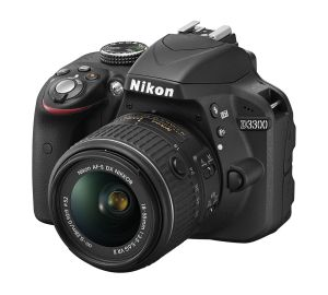 Nikon, Fotoaparát Fotoaparát Nikon D3300 + 18-55 VR Black