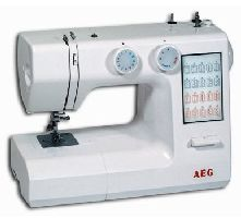 AEG, Šicí stroj s overlockem AEG 824